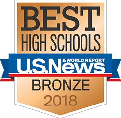 US News 2018 Bronze Award - High School