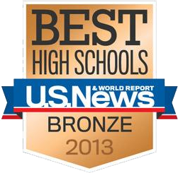 US News 2013 Bronze Award - High School