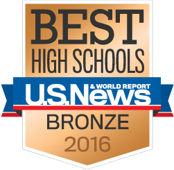 US News 2016 Bronze Award - High School