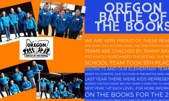 We are proud of our OBOB teams!